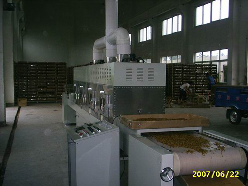 Microwave Drying Equipment for Mealworm